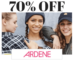 70% Off Sale at Ardene