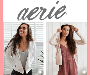 Up to 60% Off at Aerie