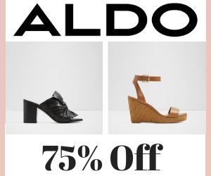 75% Off at Aldo