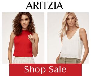 70% Off at Aritzia