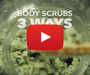 3 DIY Body Scrubs