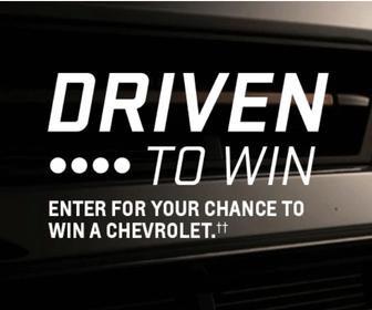 Win a Free Cadillac, GMC, or Chevrolet Car
