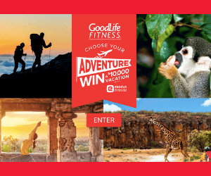 Win a $10,000 Adventure from Goodlife