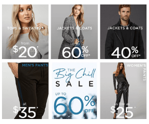 60% Off at Le Chateau