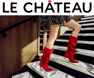Win $1,200 in Free Le Chateau Gift Cards!
