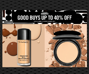 40% Off at MAC Cosmetics
