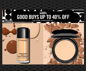 40% Off at MAC Cosmetics