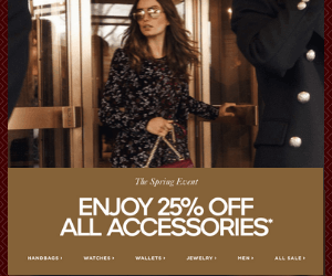 25% Off at Michael Kors