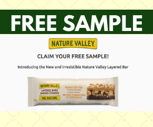 Free Nature Valley Granola Bar
