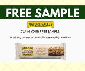 Free Nature Valley Granola Bar