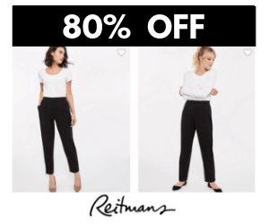 80% Off at Reitmans