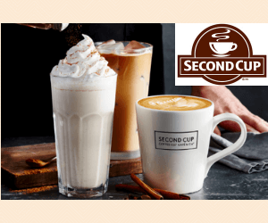 Free Coffee at Second Cup