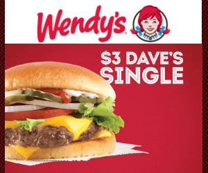 $3 Dave's Single at Wendy's