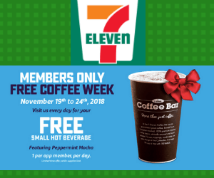 Free Slurpee or Hot Chocolate at 7-Eleven