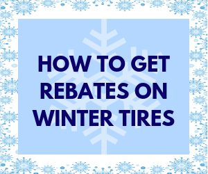The Best Rebates on Winter Tires