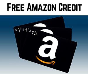 Free $15 Amazon Credit