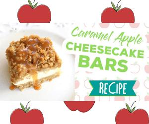 Delicious Caramel Apple & Cheesecake Bars