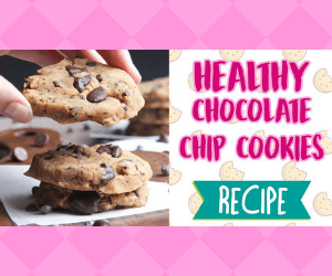 Sweet & Healthy Chocolate Chip Cookie Recipe