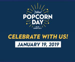 Free Popcorn at Cineplex