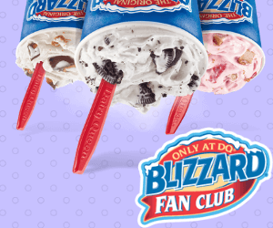 BOGO Free Dairy Queen Blizzards