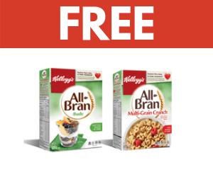 Free Kellogg's Cereal
