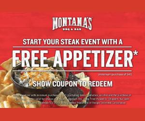 New Montana's Coupon