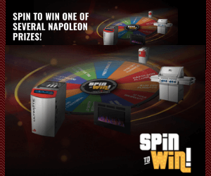 Play the Napoleon Spin to Win Contest!