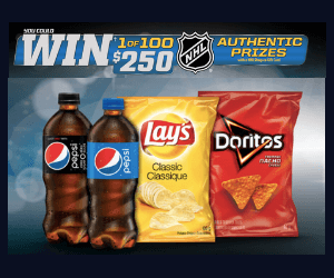 Win a $250 NHL Prize Pack