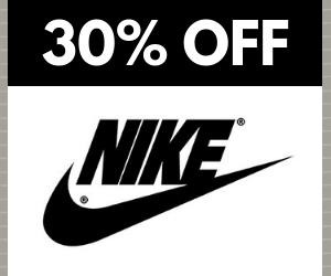 30% Off Nike Sale