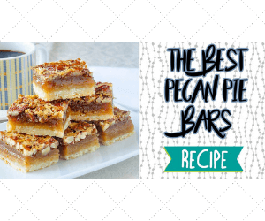 Homemade Pecan Pie Bars