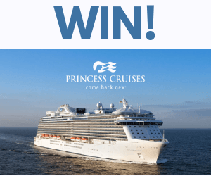 Win a Free Princess Cruise for 2