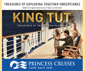 Win a Free Princess Cruise for 4