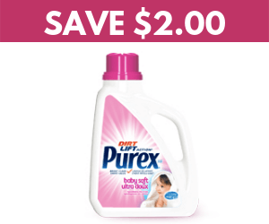 Save $2 On Purex Detergent