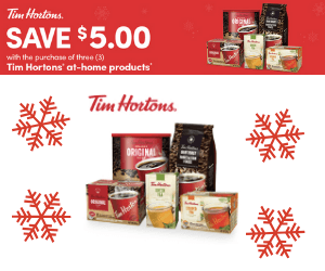 Save $5 On Tim Hortons Products