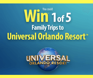 Win a Free Trip to Universal Studios