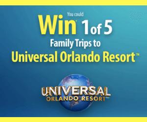 Win a Free Trip to Universal Studios