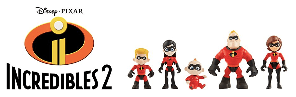 incredibles 2 action figures