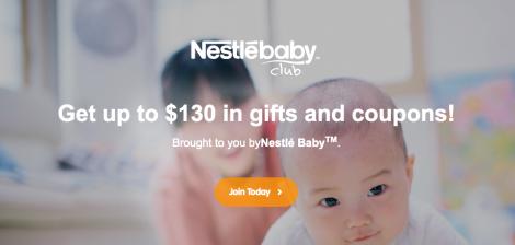 nestle baby club
