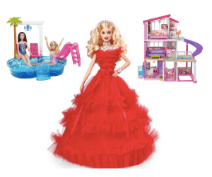 Up to 50% Off Barbie Toys