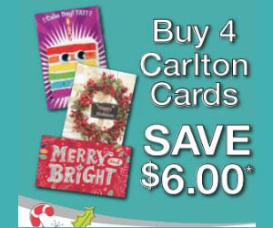 Carlton Cards Coupon