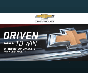 Win a Free Chevrolet