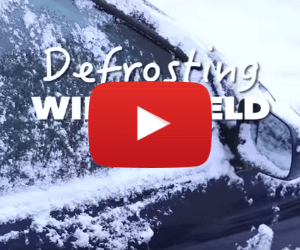 How To Defrost Your Windshield In No Time