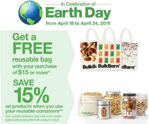 Free Bulk Barn Reusable Bag With Purchase & Savings
