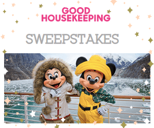 Free Good Housekeeping Issue & Win an Alaskan Disney Cruise