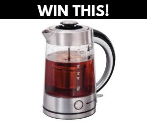 Win a Free Hamilton Beach Tea Infuser Kettle