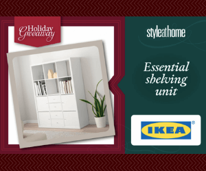 Win a Free IKEA Shelving Unit