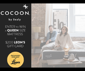 Win a Free Mattress & $200 Leon's Gift Card