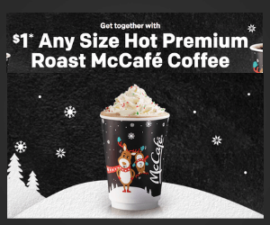 $1 McCafe Coffee
