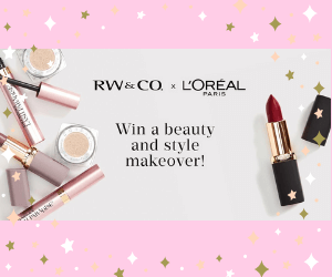 Win $500 RW&CO & $500 L'Oreal Prize Pack
