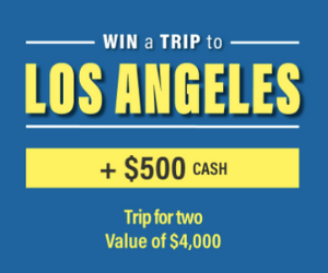 Win a Free Trip to LA From The Linen Chest